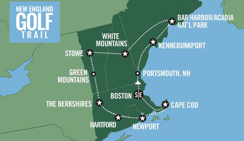 New England Golf Trail