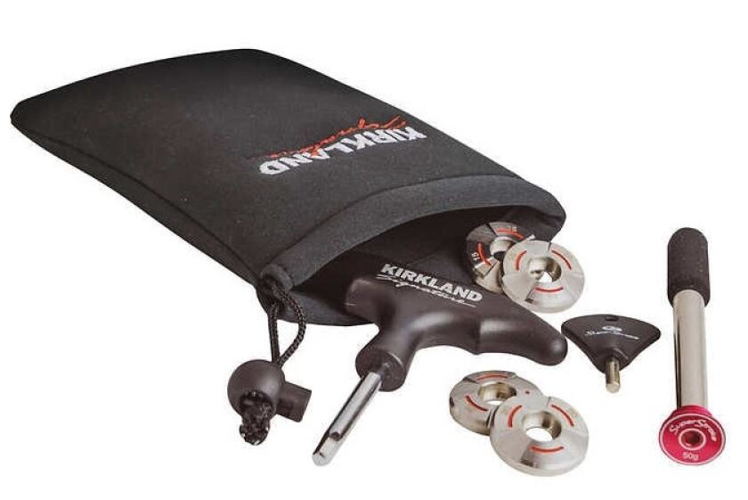 Costco Kirkland Signature putter weight kit