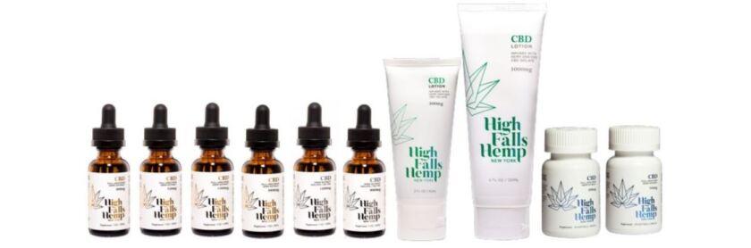 High Falls Hemp NY products