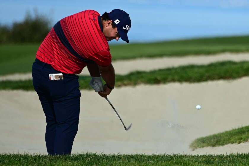 Patrick Reed final round of 2021 Farmers Insurance Open