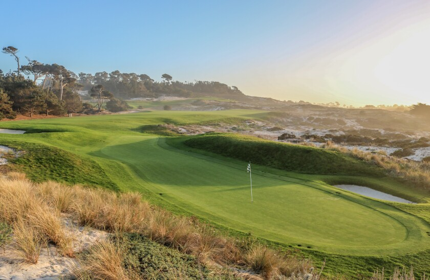 Spyglass Hill Golf Course — Hole No. 4