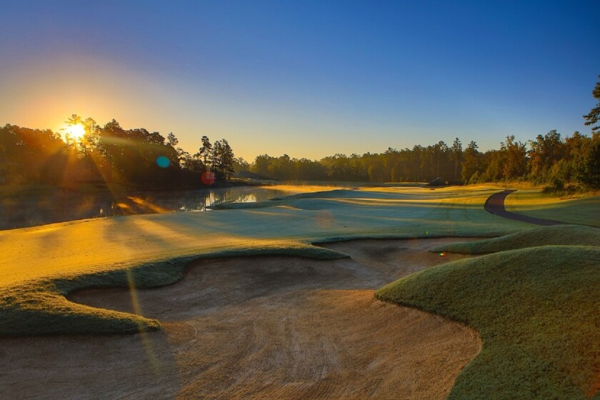 Hollow Creek at The Reserve at Woodside in Aiken SC
