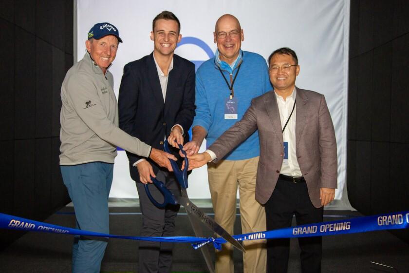 David Leadetter and Tod Pike (MGA President) Ribbon Cutting.jpg