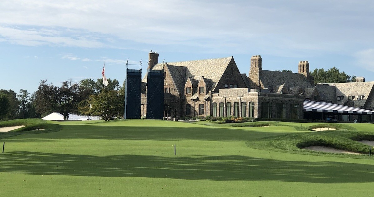 Winged Foot Golf Club Clubhouse