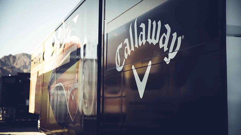 Callaway Golf PGA Tour Truck